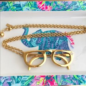 👓Kate Spade Goreski Glasses Necklace👓